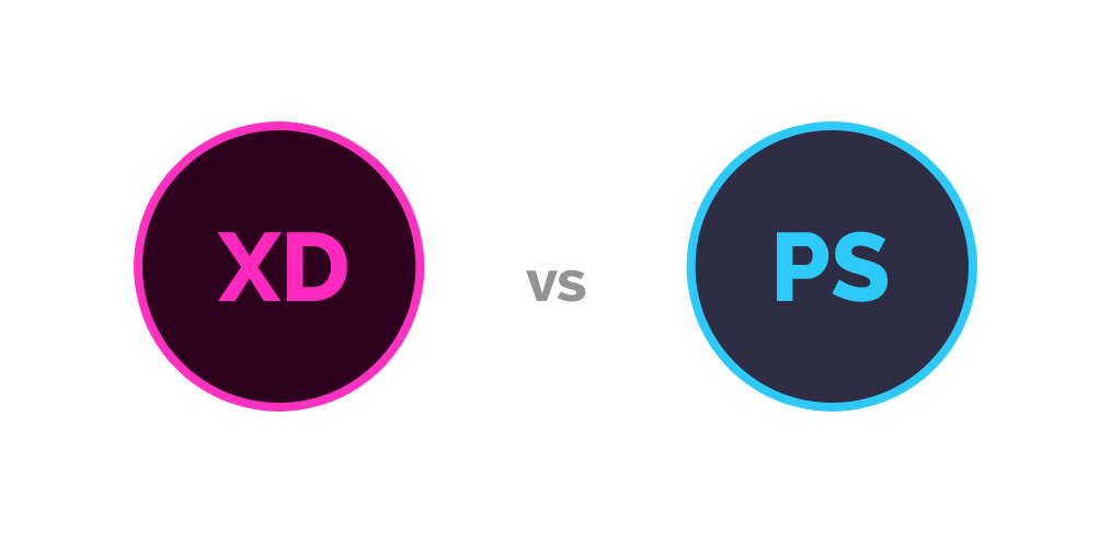 Photoshop vs Adobe XD