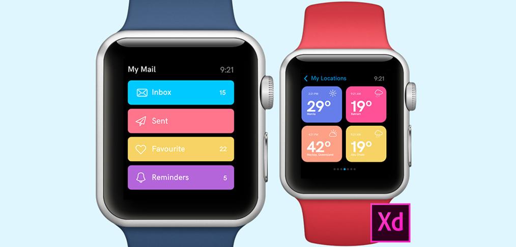 Apple Watch Design Concepts For Adobe Xd Xdguru Com