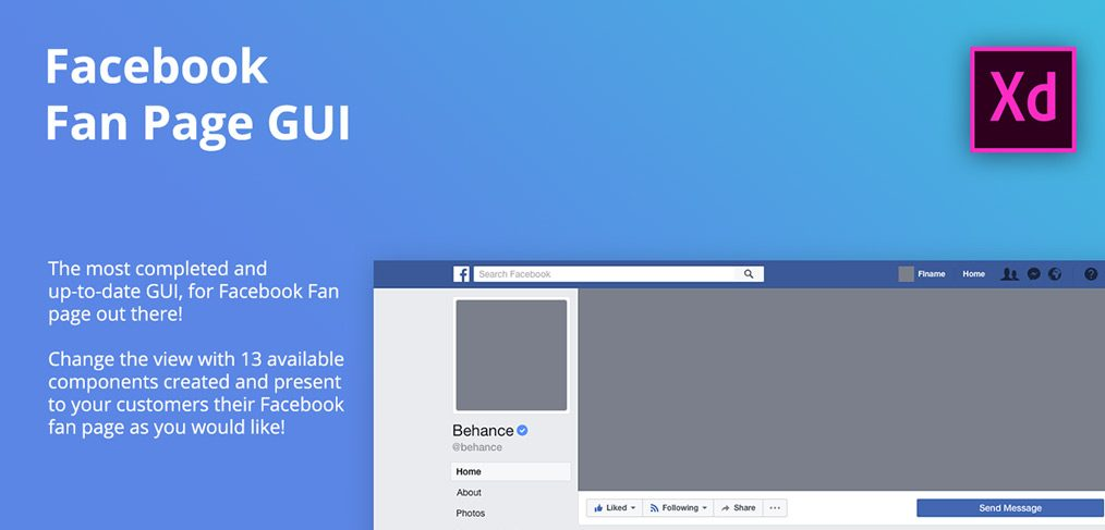 FB fan page XD