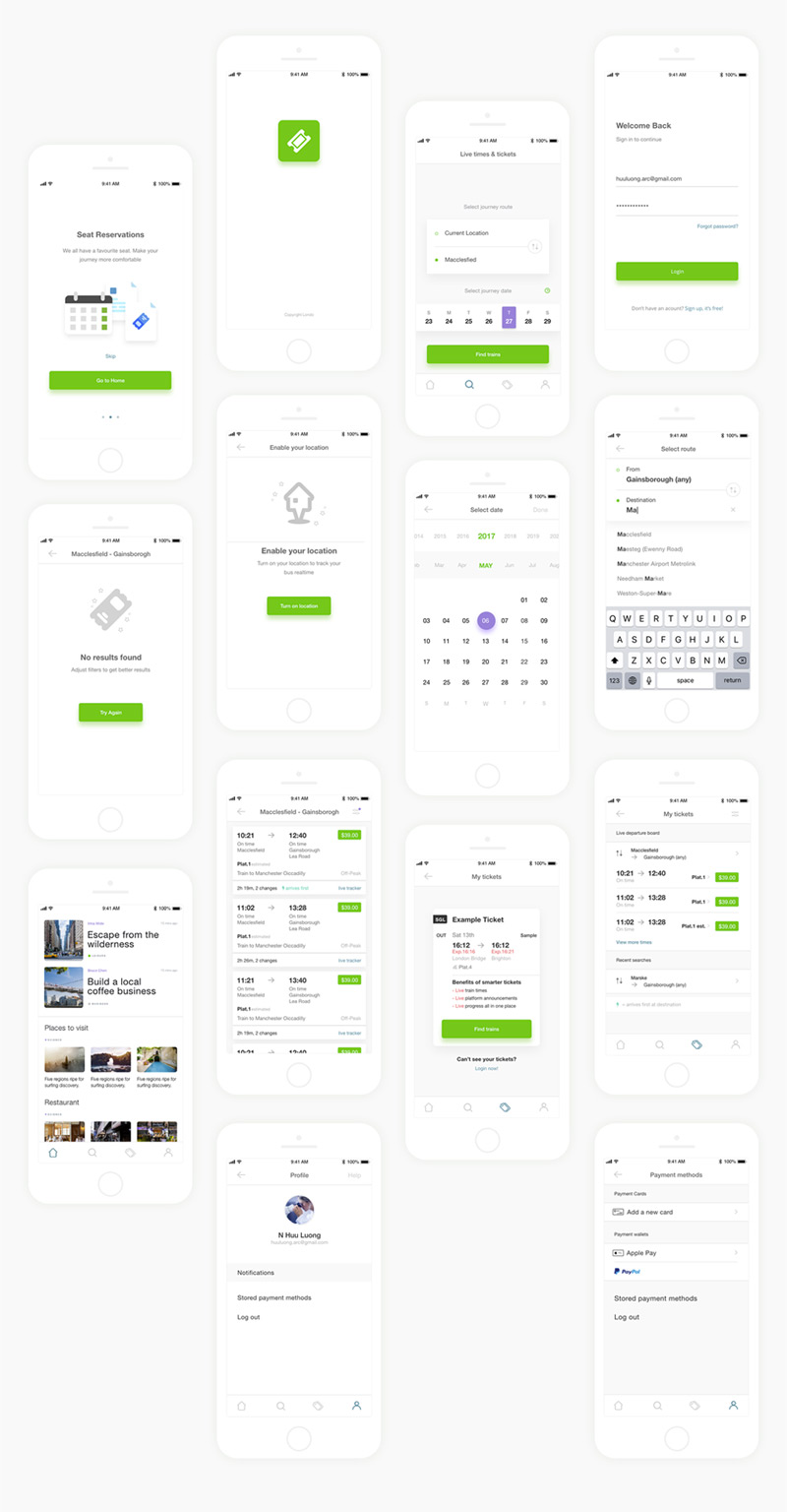 Mobile App Wireframe Kit | Mobile Application Mania