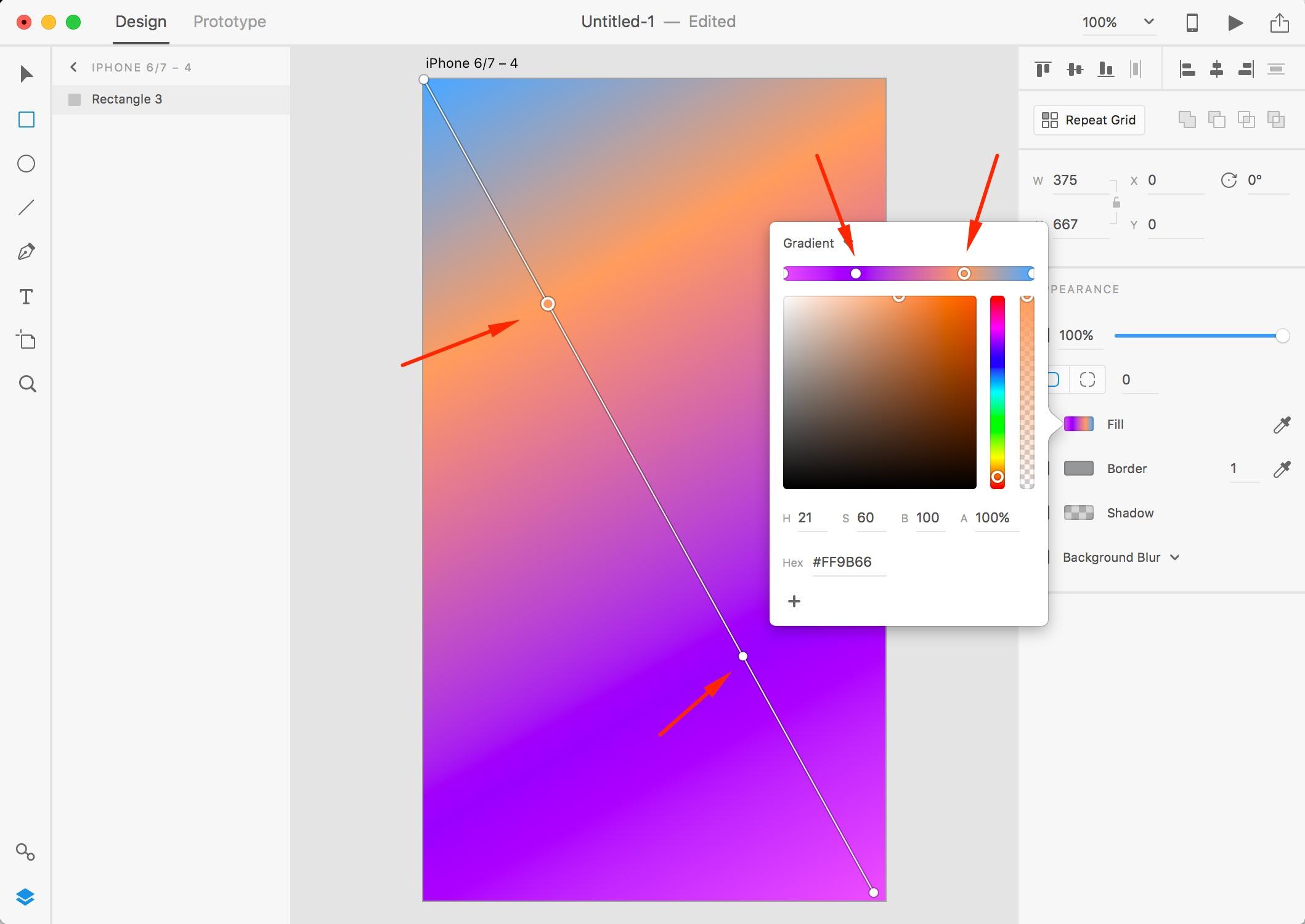 xd gradients 3