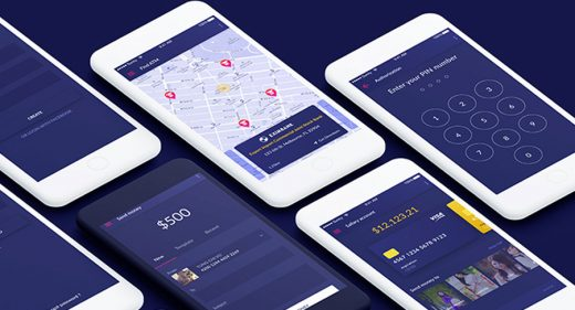 personal finance ui kit