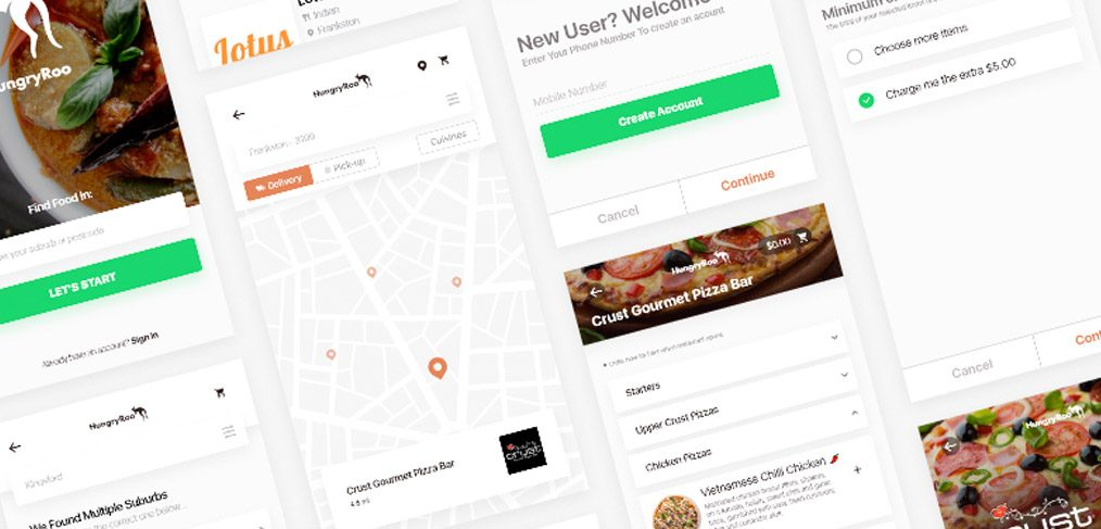 Find my Restaurant app ui kit