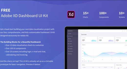 dashboard-ui-kit-xd