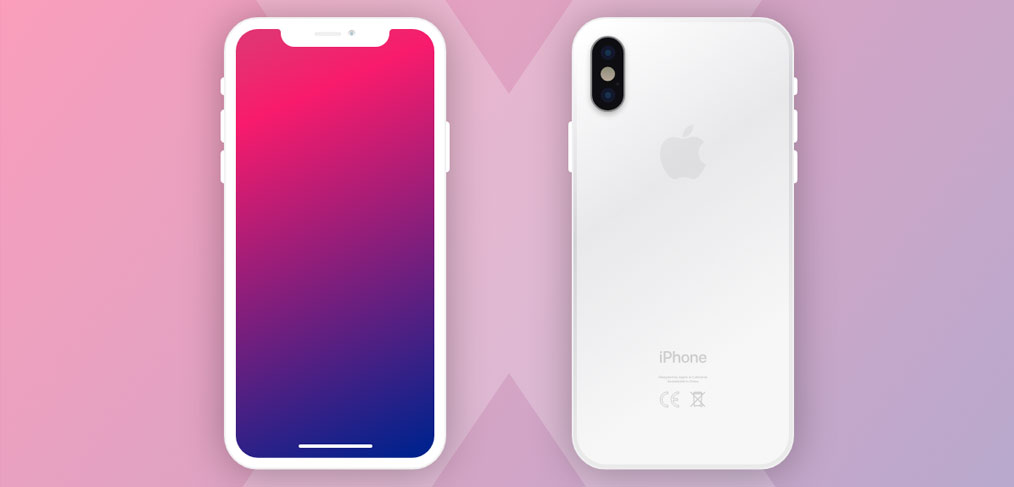 new iphone x mockups for adobe xd