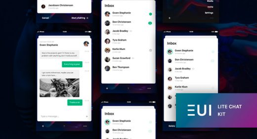 Chat UI Kit for Adobe XD