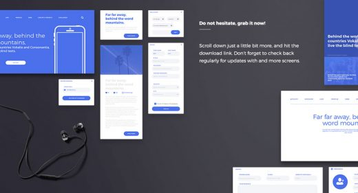 Klein Adobe XD Wireframing Kit