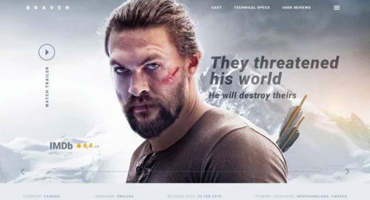 Braven Website Template for Adobe XD