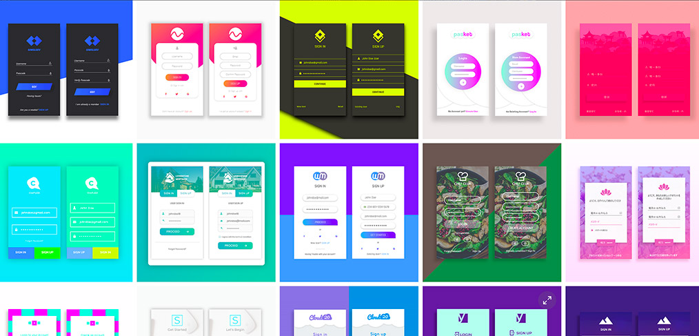 adobe xd templates web free download