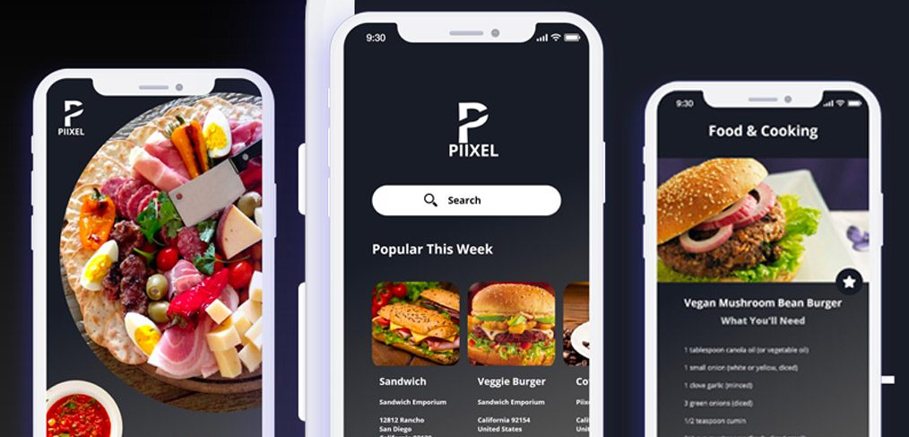 Restaurant ios app for adobe xd xdguru