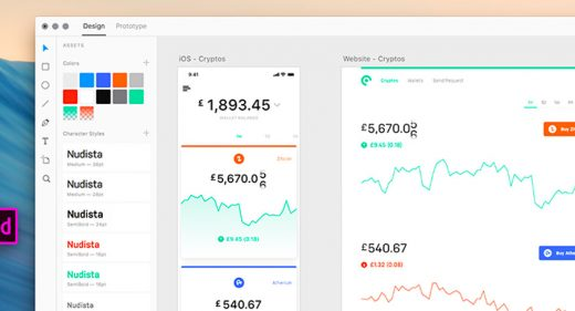Cooin Crypto UI Kit Adobe XD