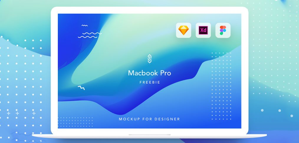 Macbook Pro mockup for XD - XDGuru com
