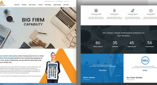 Adobe XD Website Templates & Landing pages UI - XDGuru.com