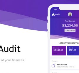 Audit Finance app UI kit