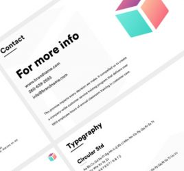 XD brand guidelines template