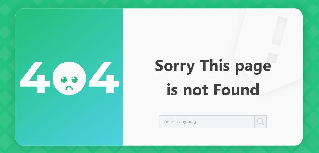 404 page template xdguru com