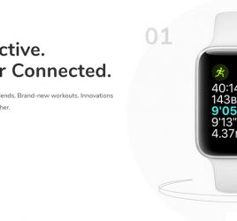 Apple Watch Website Template