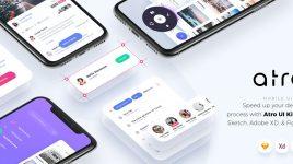 Atro - Adobe XD UI kit (Premium)