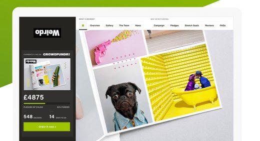 Crowdfund Companion – Free UI Kit for XD