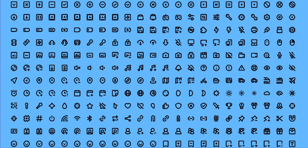 Mmmicons 500+ Free Icon Set for XD