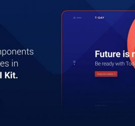 Today Web UI Kit for XD (Premium)