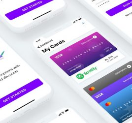 Subscription App Free UI kit