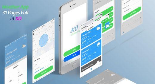adobe xd mobile templates and mobile ui kits xdguru com