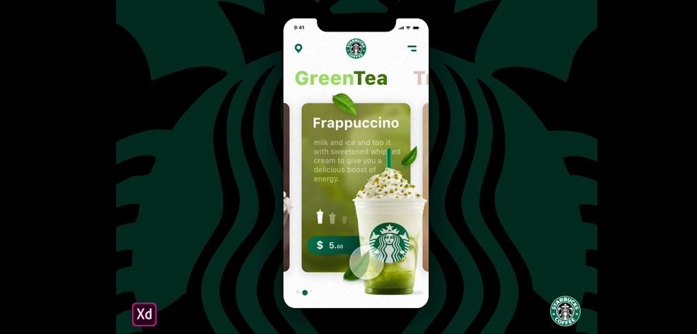 Starbucks cards animation