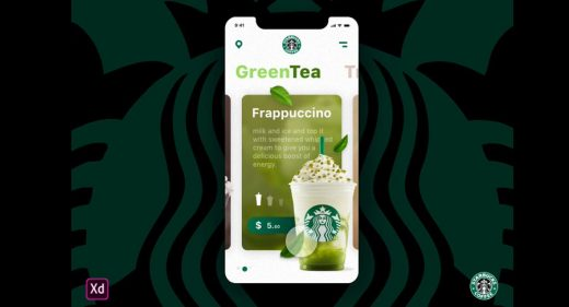 Starbucks cards animation