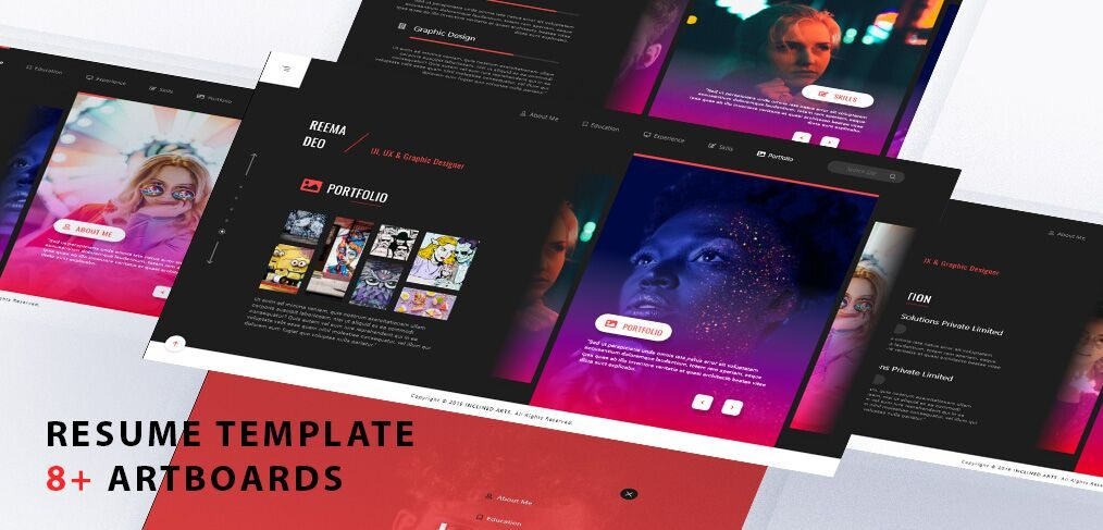adobe xd templates  ui kits and freebies