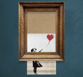 Cool Bansky shredding animation