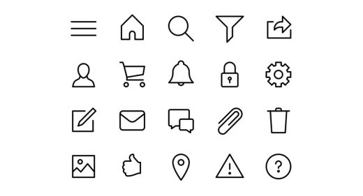 Adobe XD Icons and Icon Sets - Free and Premium Icons for Adobe XD