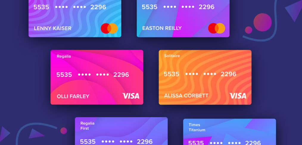 credit  debit card xd templates  xdguru