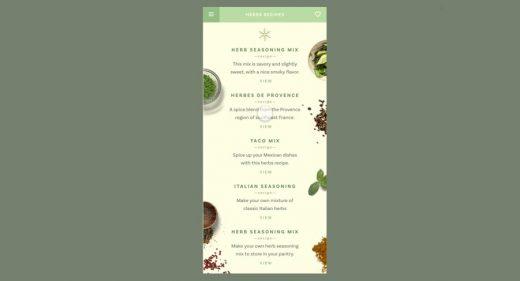 Herbi Design XD UI Kit