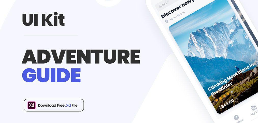 Adventure Guide Free UI kit