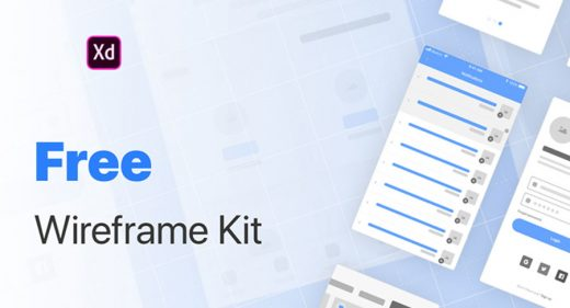Free basic wireframing kit for XD