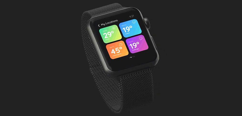 Smart Watch XD Location Screen