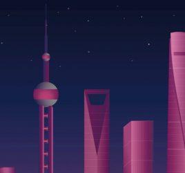 Shanghai Day-Night XD animation