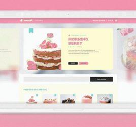 Cake XD Free UI kit