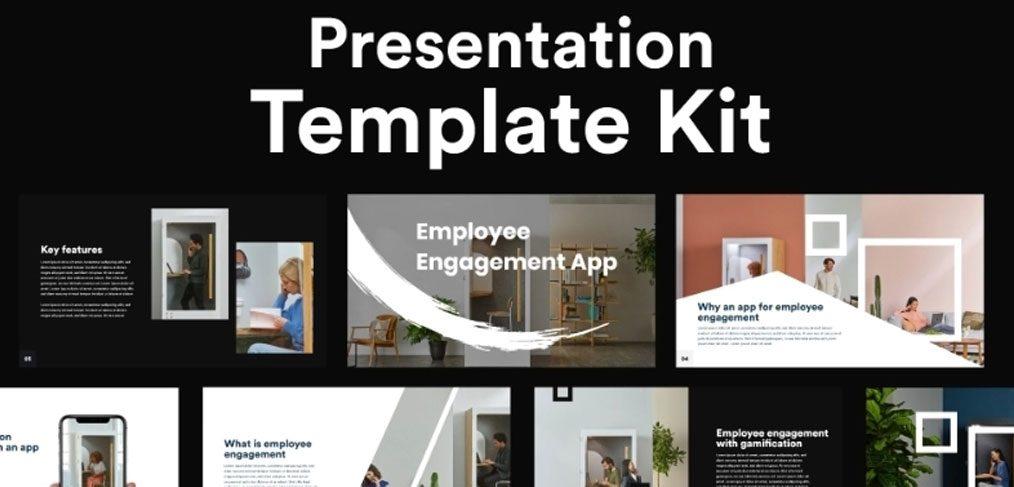 Employee engagement free UI kit
