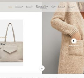 Free fashion ecommerce XD template