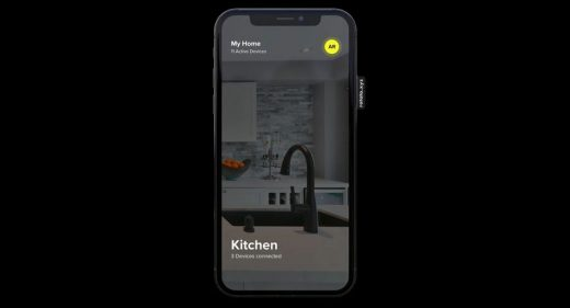 AR smart home app XD template