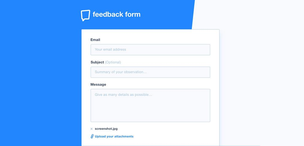 XD form template freebie