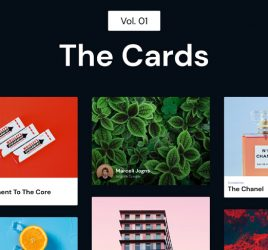 The Cards - Adobe XD freebie