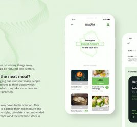 WiseFood free UI kit for XD