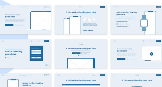 FreeWire - Free XD wireframe kit
