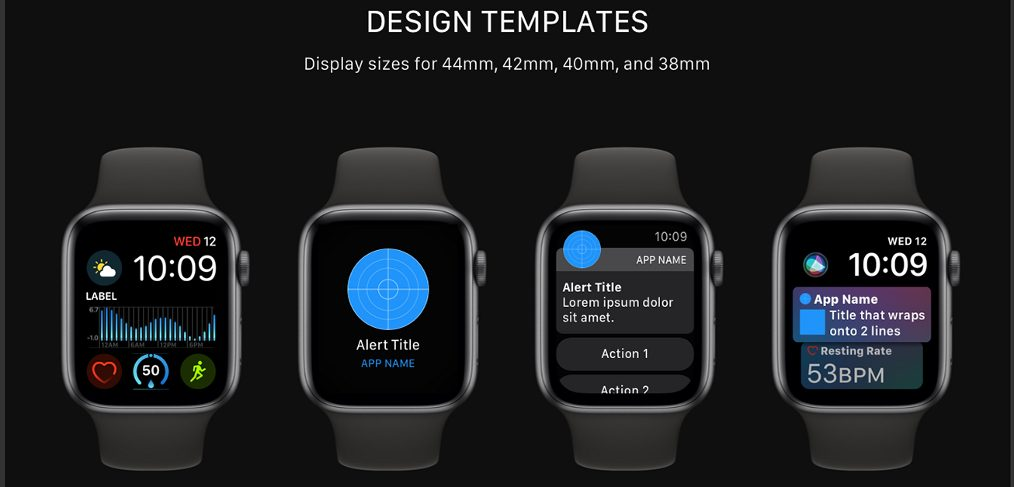 WatchOS UI kit for XD