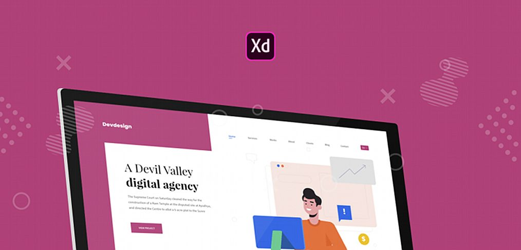 Dev/Design Agency Website template
