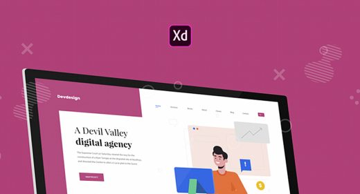 Dev/Design Agency Website template