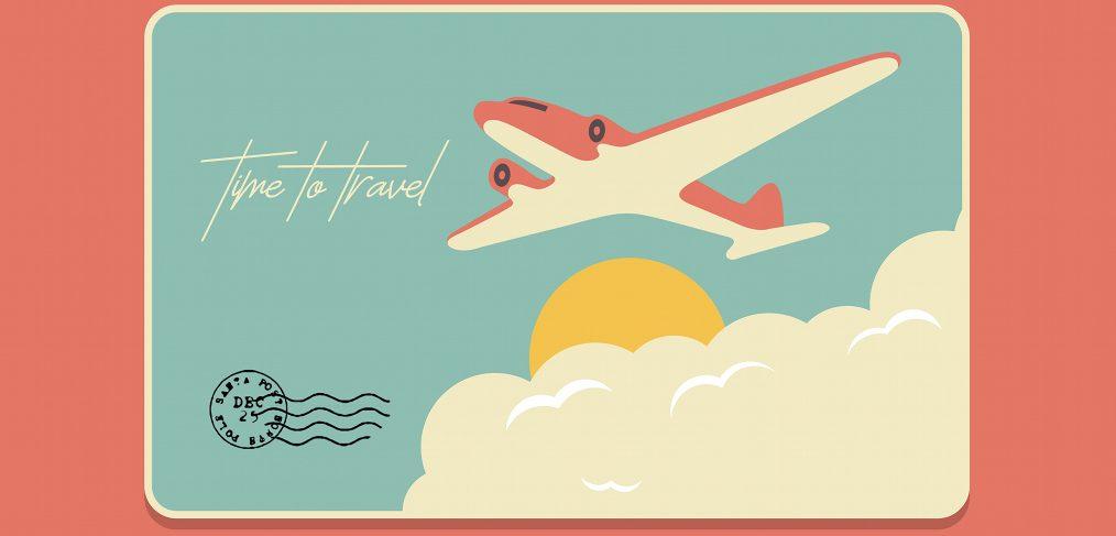 Travel XD postcard illustration